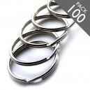 2 1/4 inch Key Rings Pack of 100