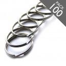 1 1/2 Inch Key Rings Pack of 100