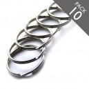 1 1/2 Inch Key Rings Pack of 10