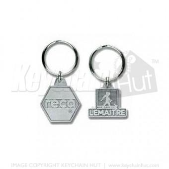 Cast Iron Metal Keychain
