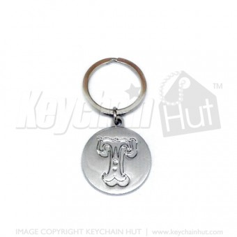 Cast Alloy Metal Keychain