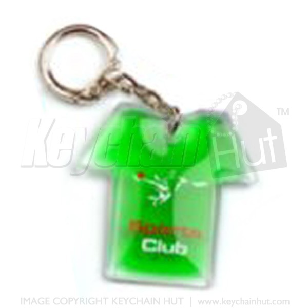 Custom Liquid Printed Keychain