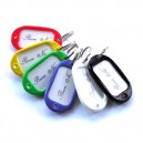Hotel Room Key Tags - Pack of 6