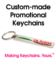 Custom keychains made to order