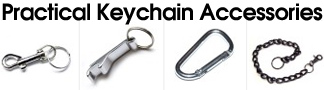 Practical Keychain Accessories, clips and key rings
